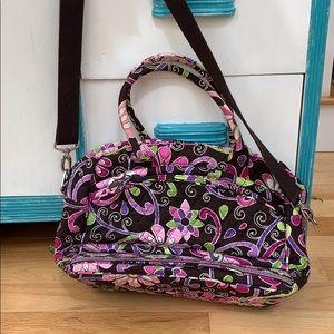 Purple Vera Bradley Laptop Bag, Vera Bradley Case